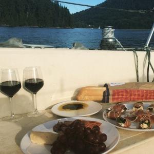 Boat picnic!