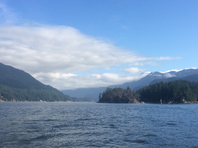 Leaving Indian Arm